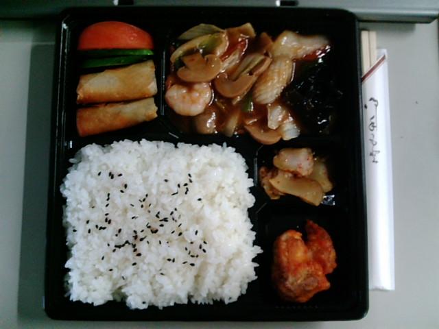 八宝菜弁当(水道橋/萬盛記)