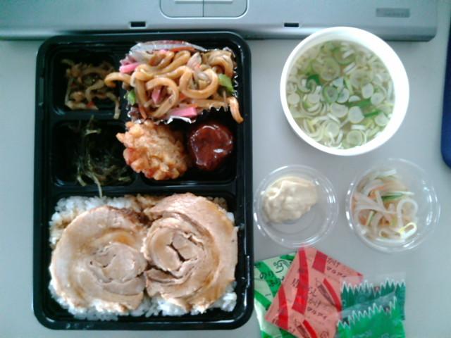 チャーシュー弁当(水道橋/お弁当の高藤)