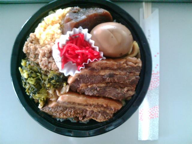 角煮丼(水道橋/まんぷく堂)