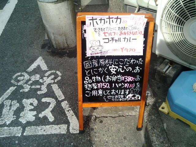 カレー弁当(九段下/コーチャル)