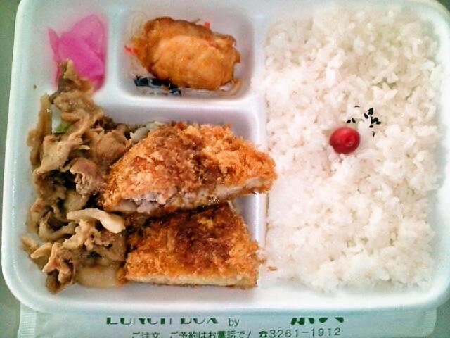 特別弁当(飯田橋/肉の米久)