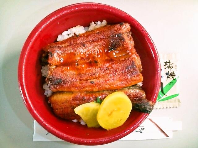 うな丼弁当(上)(飯田橋/魚政)