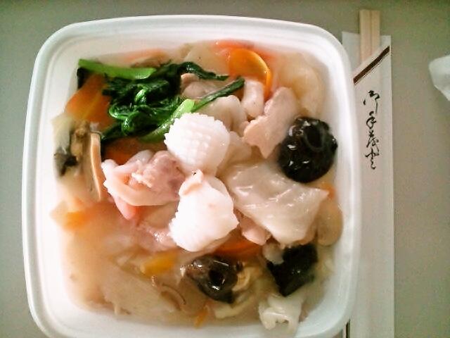 五目かけご飯弁当(九段下/青島飯店)
