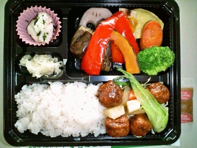 焼き野菜日替わり弁当(水道橋/屋台Deli)