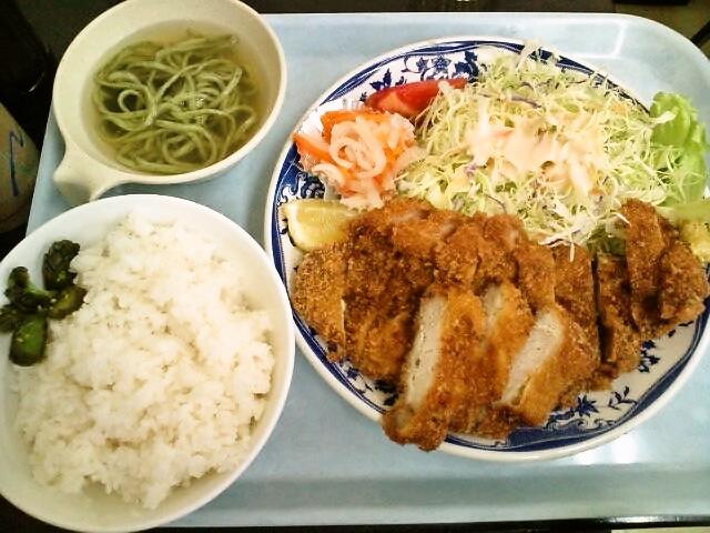 とんかつ定食(神保町/ジェイビーマート)