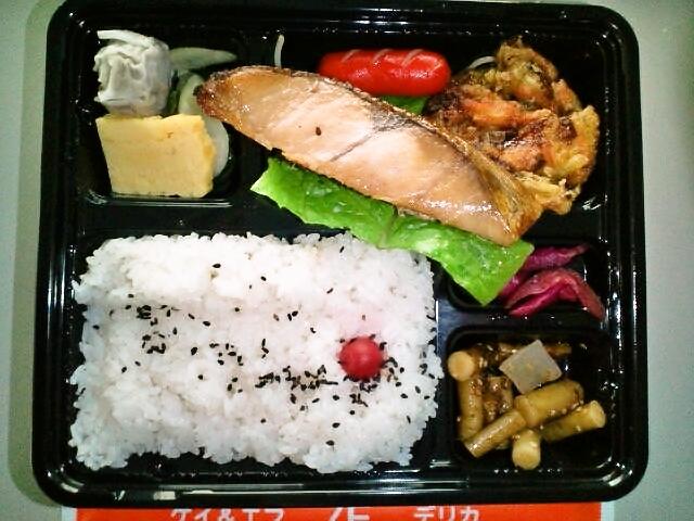 タラの醤油漬け弁当(飯田橋/ケイ&エフ)