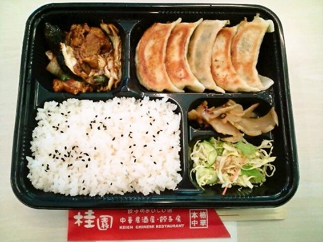 餃子弁当(神保町/桂園)