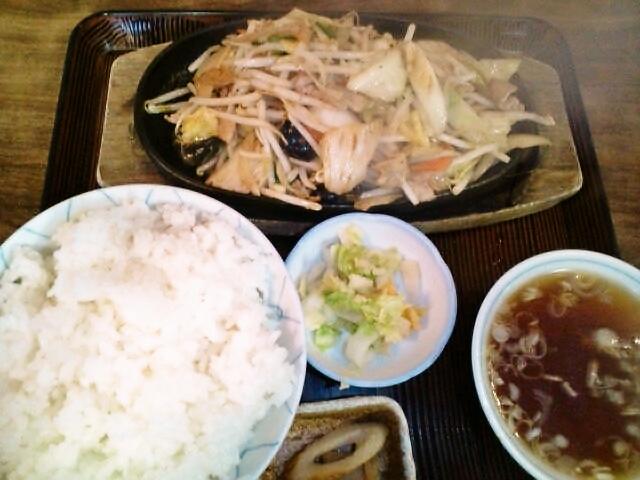肉野菜炒めライス(横芝光/幸楽)