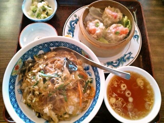ピリ辛はるさめ丼セット(横芝光/<br />  幸楽)