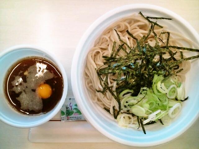 冷やしとろろ蕎麦・大盛(九段下/小諸そば)