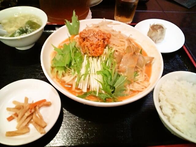 冷やし担々麺(神保町/正香園)