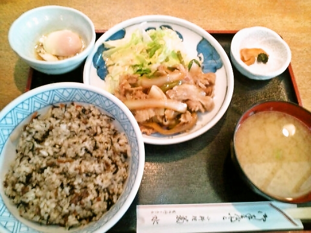 スタミナ定食(神保町/菊水)