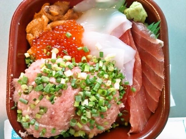 魚河岸丼(神保町/丼丸)