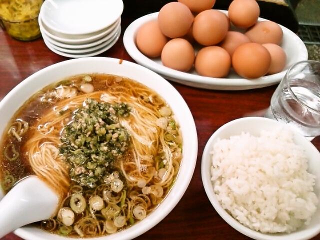 支那麺(本郷/我流担担麺・竹子)