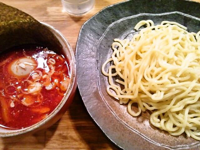 辛味つけ麺・辛味 MAX<br />  (水道橋/やすべえ)