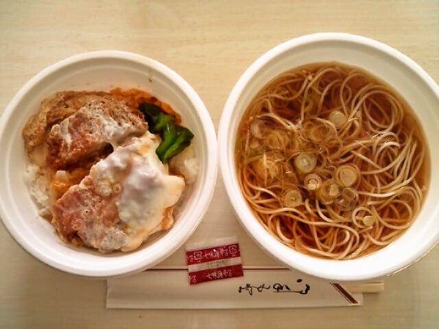 カツ丼セット(神保町/うちそば)