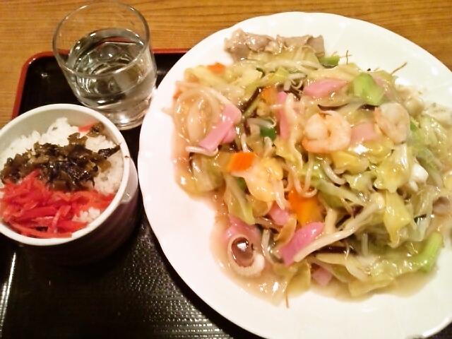 皿うどんセット(神保町/九州)