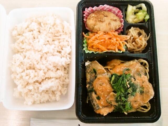 韓国風さばの味噌煮弁当(飯田橋/ひと味ぼれ)