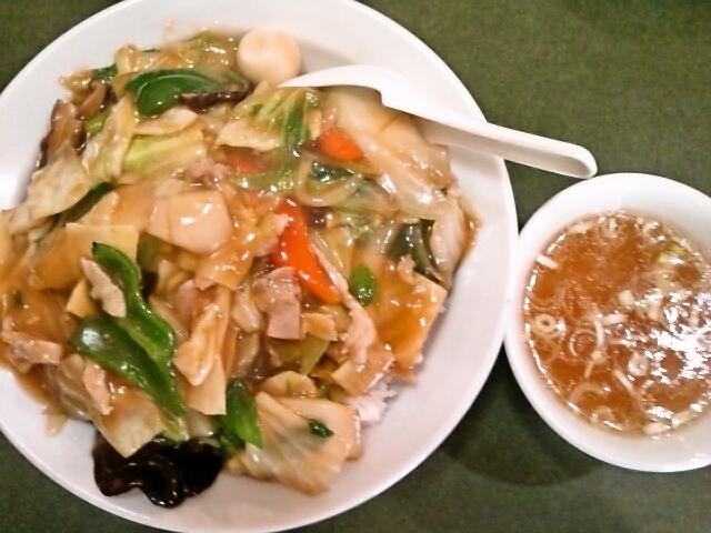 中華丼(神保町/ぶん華)