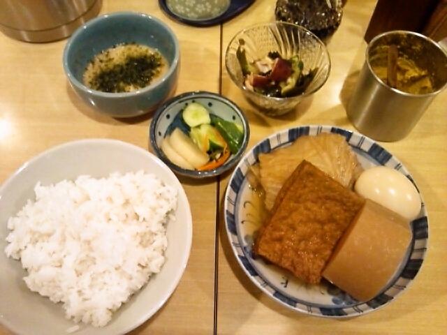 おでん定食(本郷/おくちゃん)
