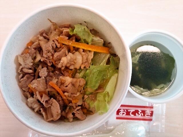 焼肉丼(飯田橋/ムッソ)