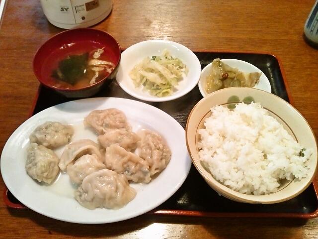 水餃子定食(水道橋/台北)