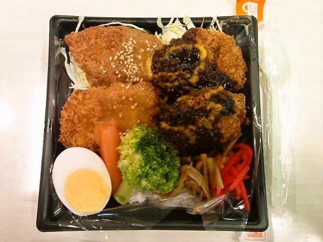 Wソースカツ丼(水道橋/屋台Deli)