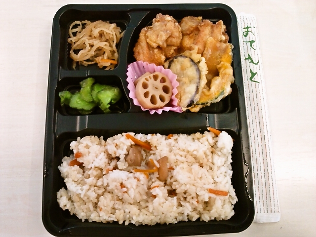 たきこみごはん弁当(飯田橋/咲)